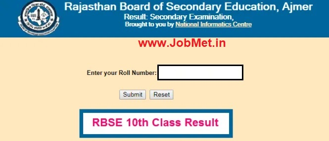 Rajasthan 8th Class Time Table 2021