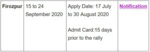 Indian Army Rally Open Bharti 2021 | इंडियन आर्मी भर्ती 2021 1