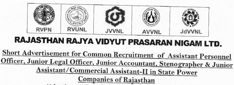 Rajasthan Bijli Board JVVNL AVVNL, RVUNL Recruitment राजस्थान बिजली विभाग 1295 पदों पर भर्ती 2021 rajasthan vidyut vibhag vacancy 2021 Latest Update